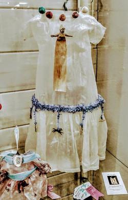 Bainbridge Island waxed dress