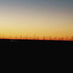 Delta windmills, CA