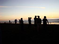 Ocean Beach Silhouettes.