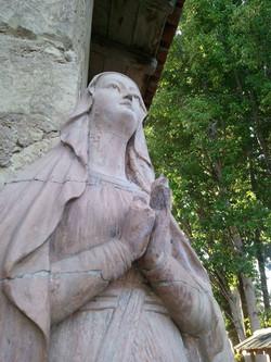 Mary, Carmel Mission, CA
