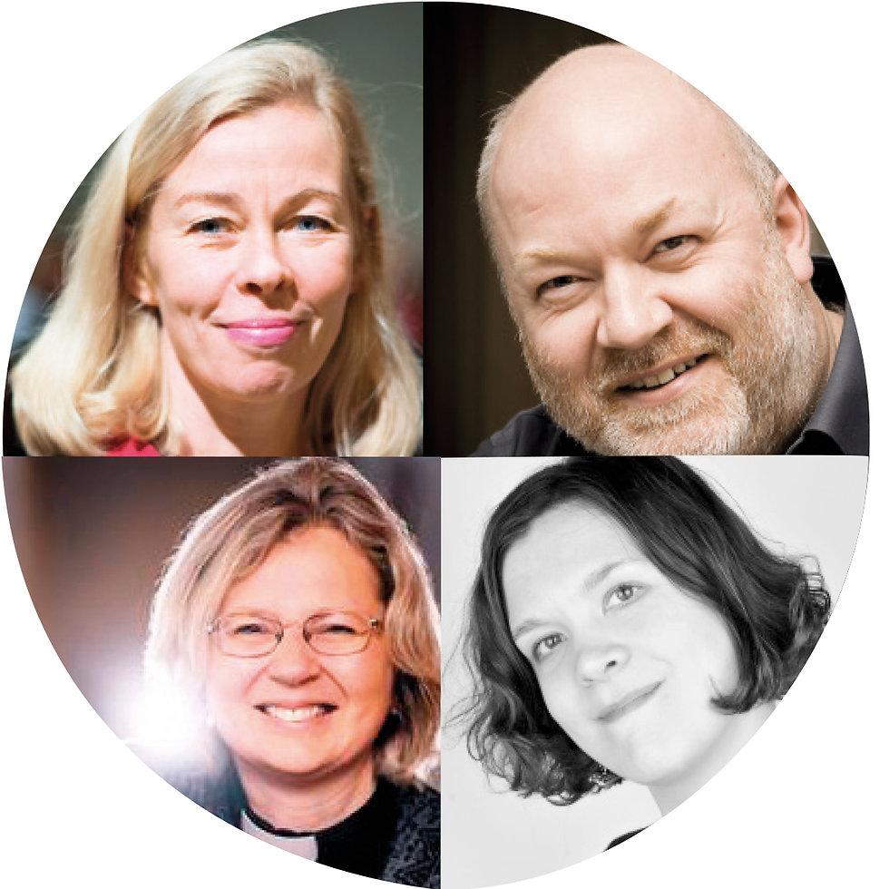 Inna Vintturi, Elsa Sihvola, Markus Bäckman & Kati Pirttimaa