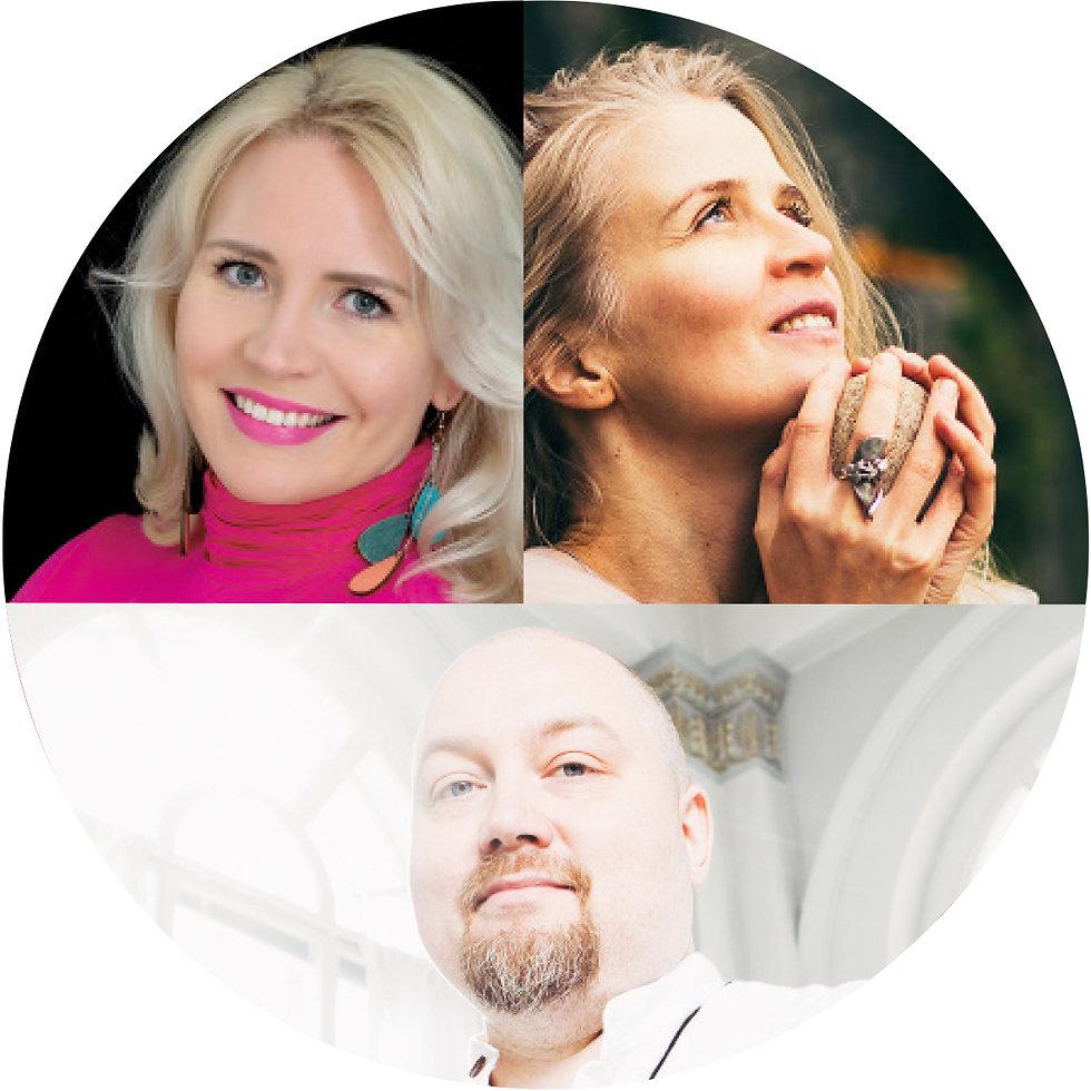 Johanna Linner Matikka, Anna Saksman & Henri Järvinen