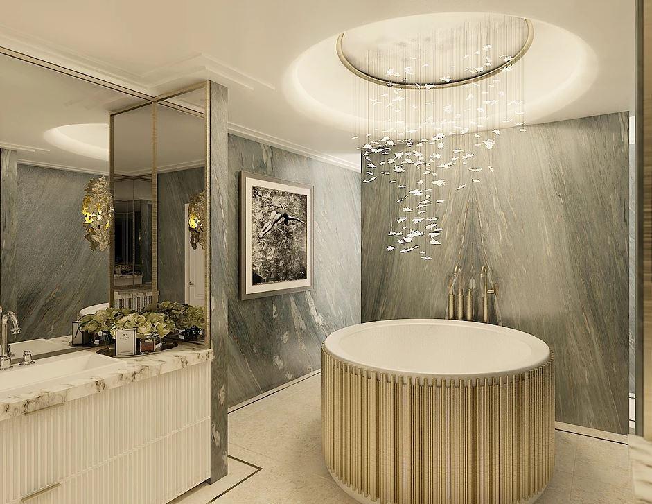 Luxury Bathroom. Design Collaboration between Vesta Design and ME Interiors.