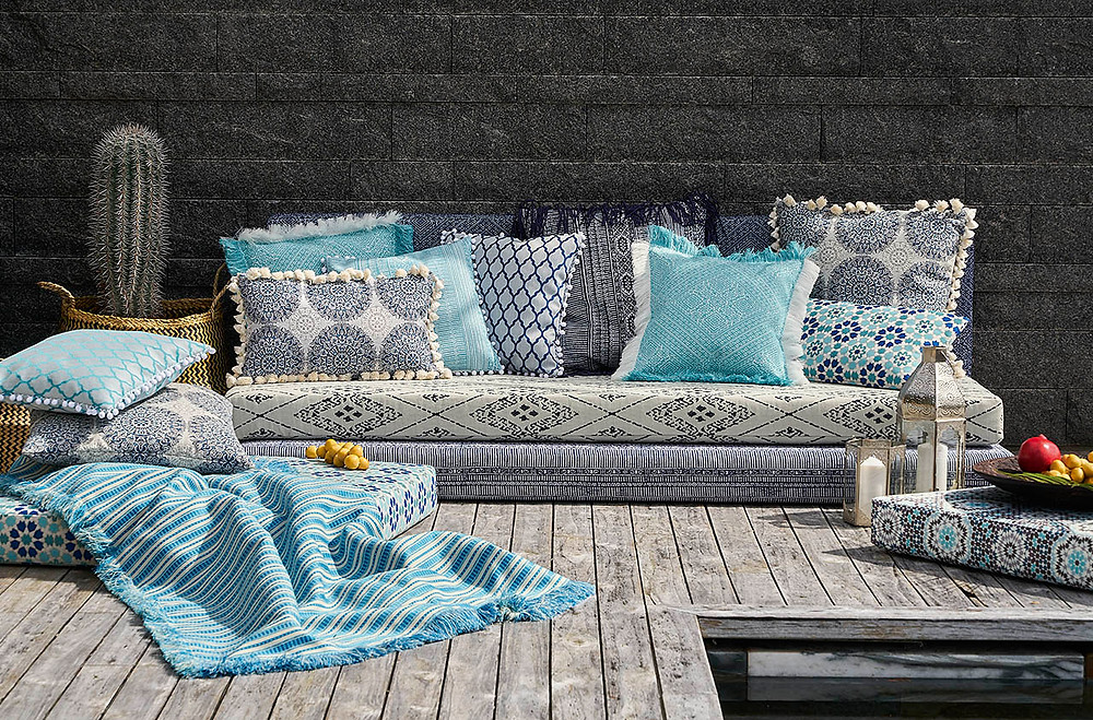"""The """"Around The World"""" Outdoor Fabric Collection by JAB Anstoetz"""