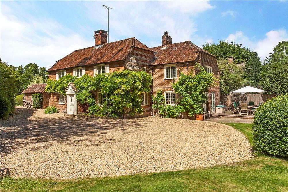 House for sale in Nether Wallop near Stockbridge