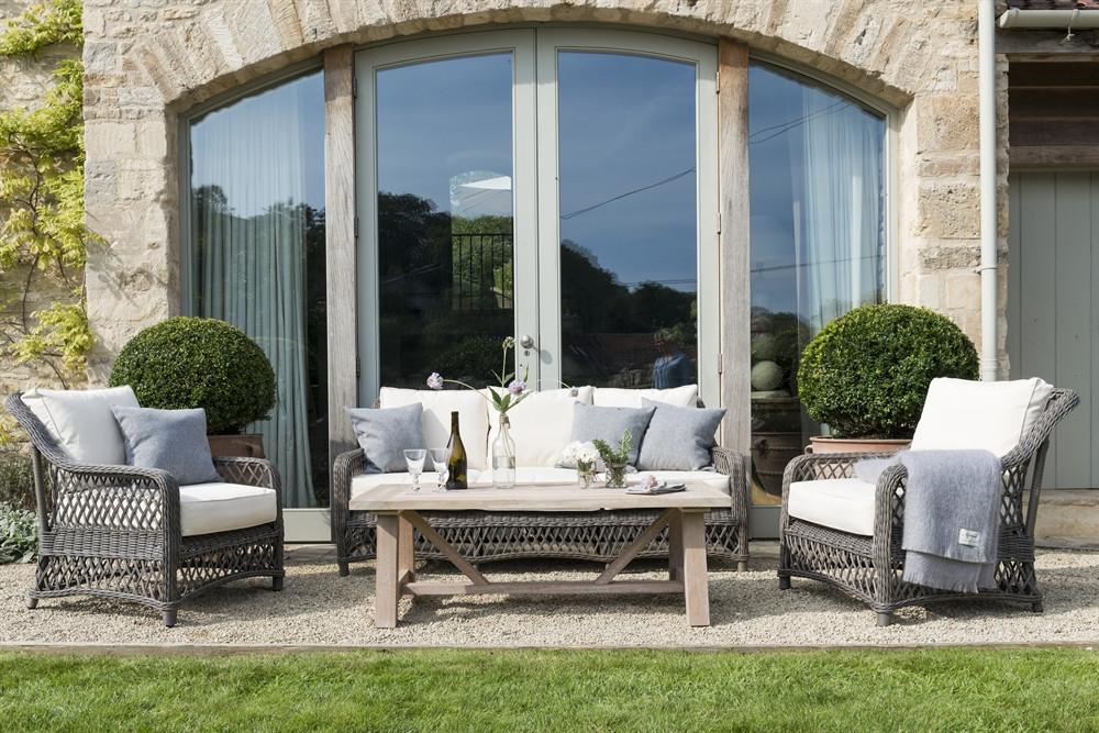 The Harrington Sofa Set and Tuscany Coffee Table by Neptune