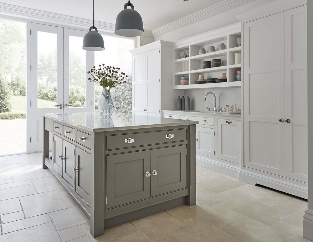 Grey Shaker Kitchen by Tom Howley