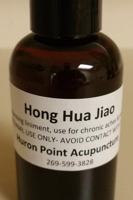 Hong Hua Jiao (Warming Liniment)