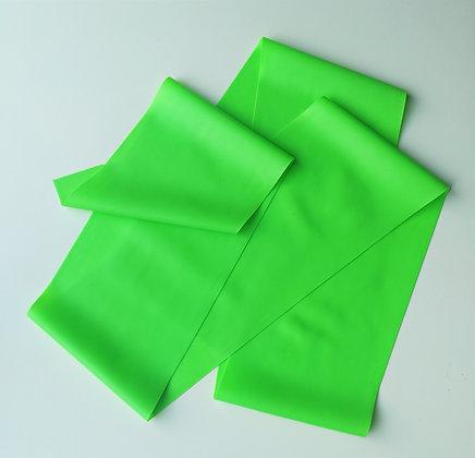 Grande bande élastique verte
