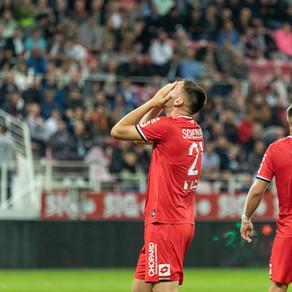 DFCO 0-1 Valenciennes : deux poteaux et Philippoteaux