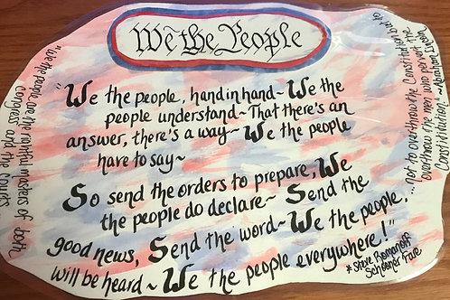 GQ127~ We The People!