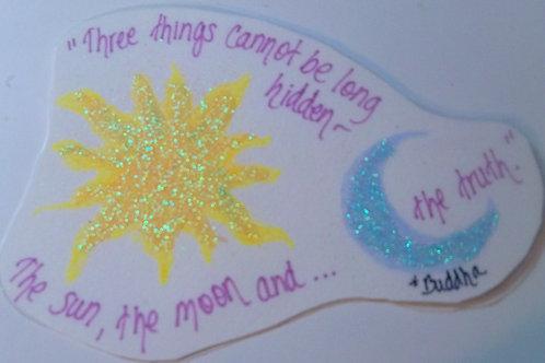 GQ83 SunMoon~Buddha quote