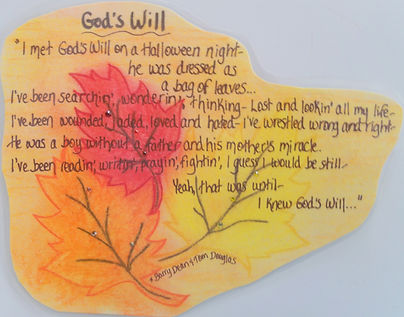 God's will lyrics fall autumn leaves musicswarovski crystals