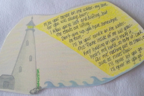 """GQ61 Candle~Candle on the Water lyrics (Song from Pete""""s Dragon)"""