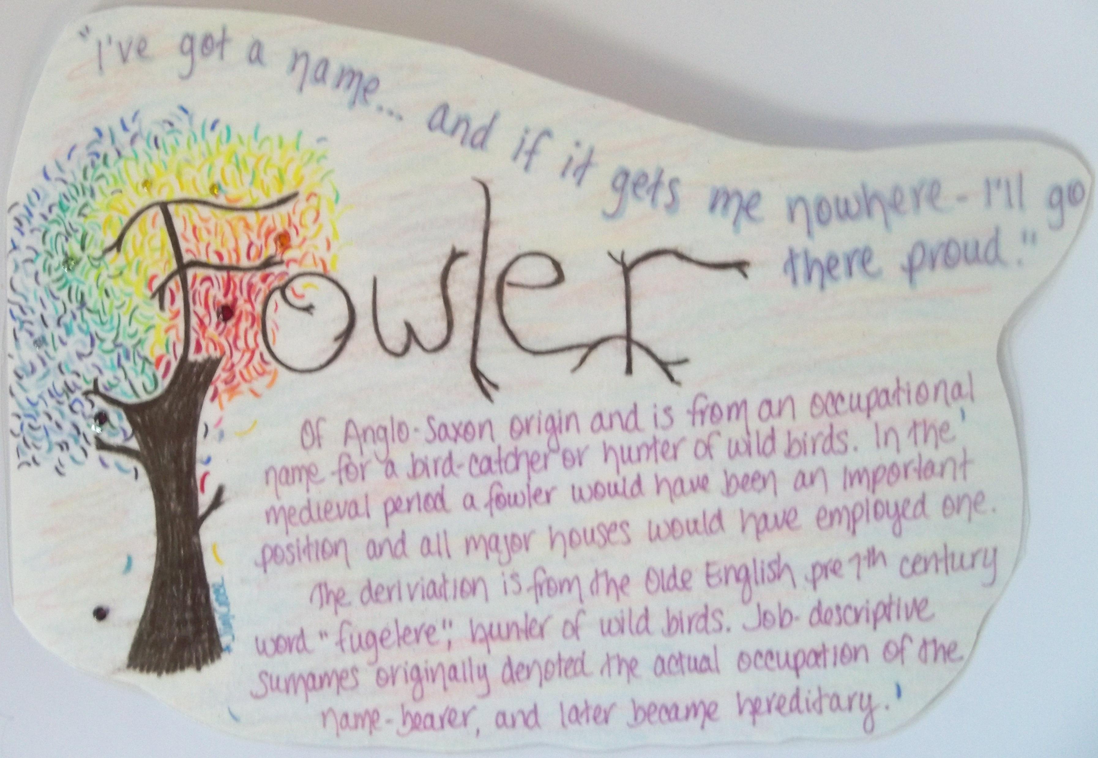 Fowler Tree