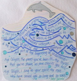 Calypso John Denver ocean dolphin gifted quote