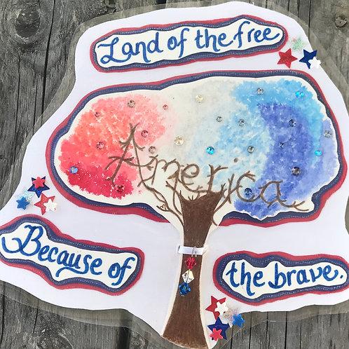 GQ124~America Tree