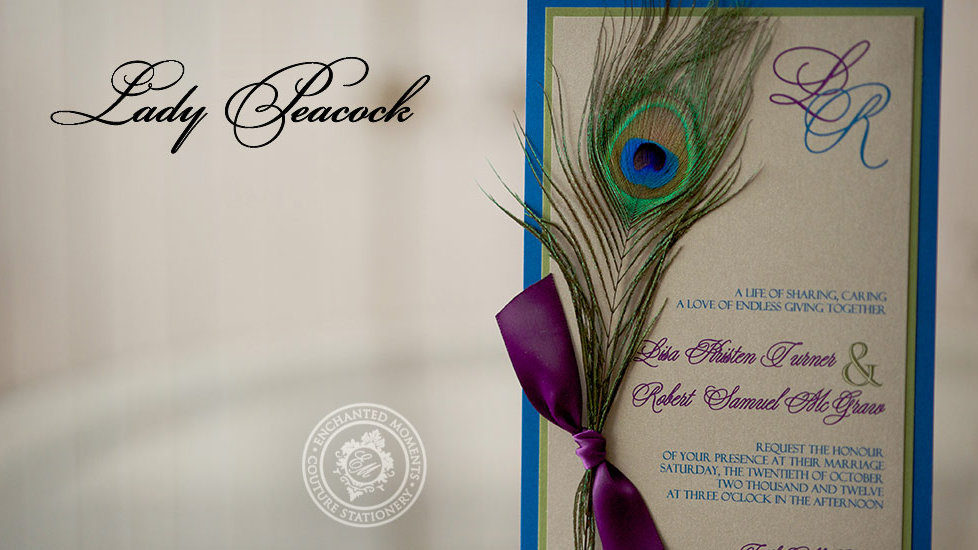 Lady Peacock - Invitation