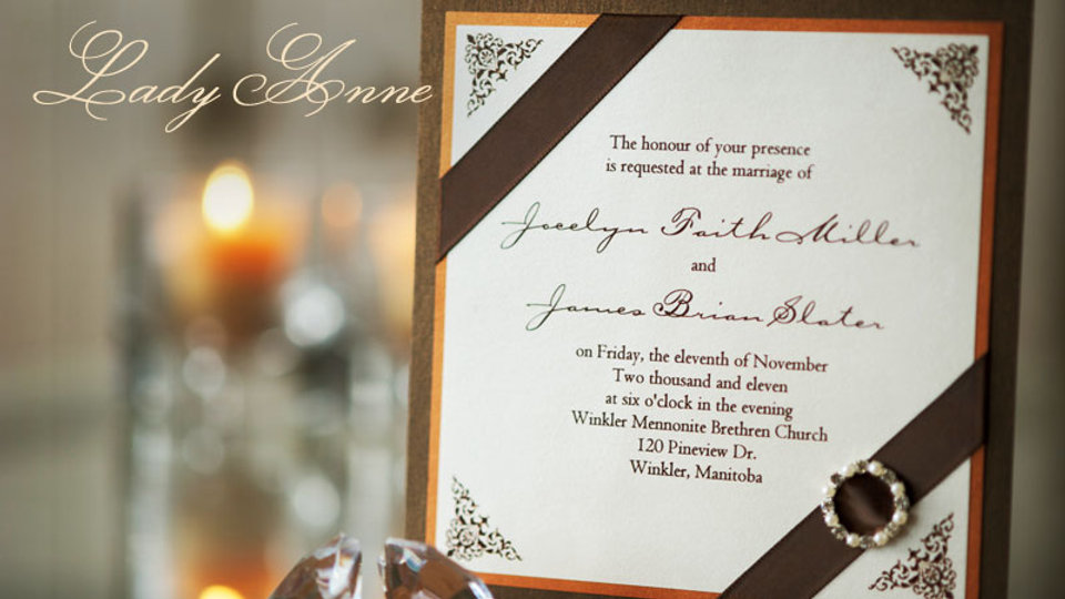 Lady Anne - Invitation