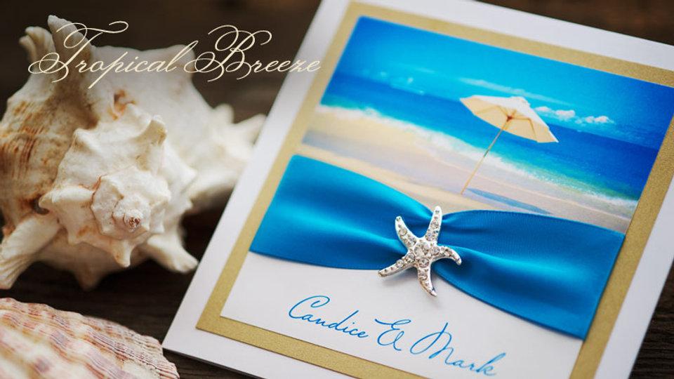 Tropical Breeze - Invitation
