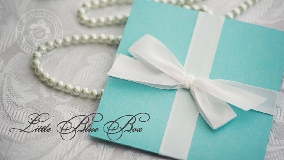 Little Blue Box - Invitation