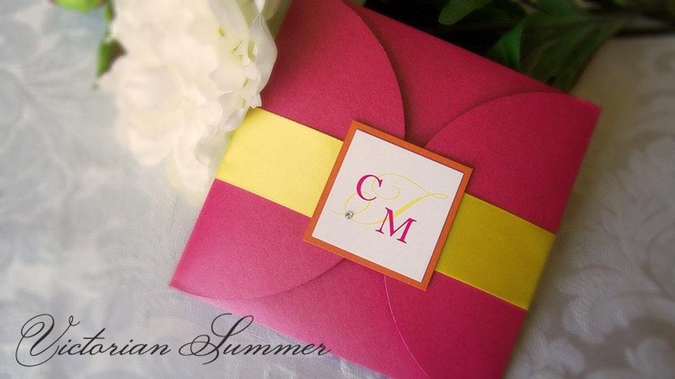 Victorian Summer - Invitation