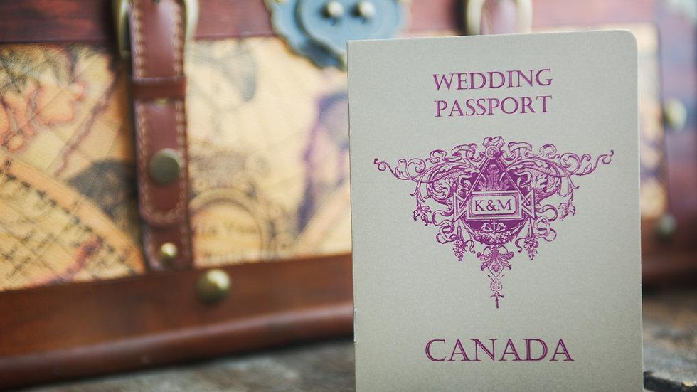 Passport - Invitation