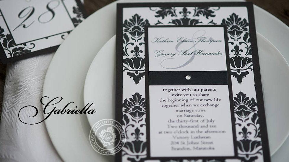 Gabriella - Invitation