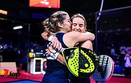 Nuevos títulos de campeones de España de pádel en el WIZink Center
