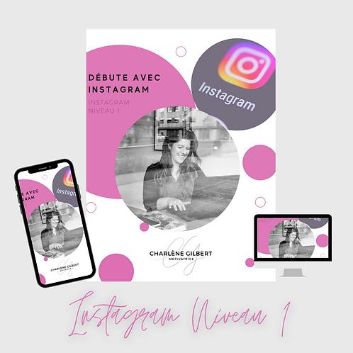Formation Instagram Niveau 1