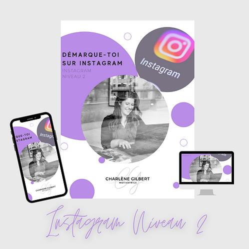 Formation Instagram Niveau 2