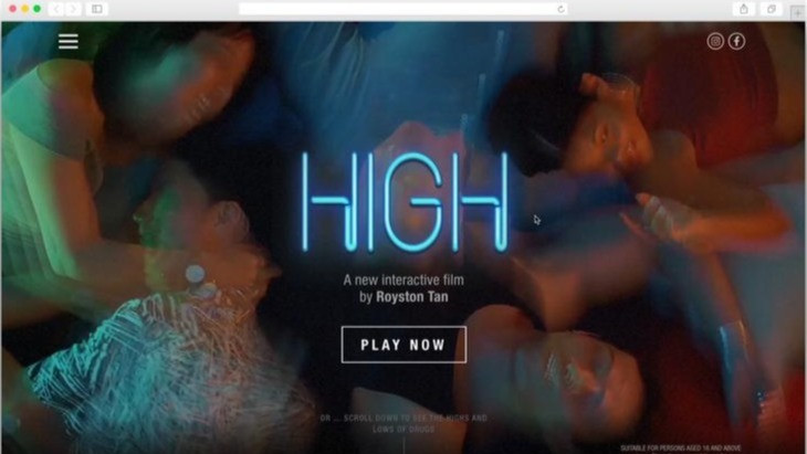"""NCADA - HIGH """"Say Yes To Drugs"""""""