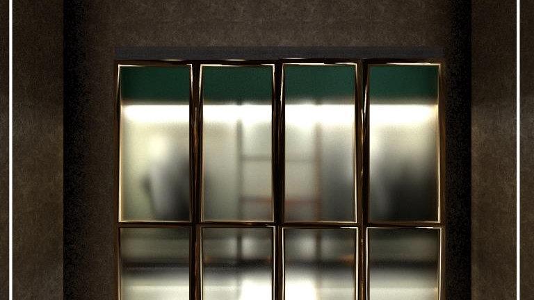 Glass Wardrobe- G.H.-01
