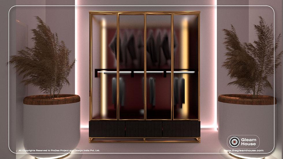 Glass Wardrobe- G.H.-02