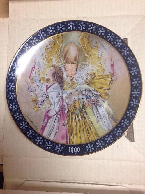 """Königszelt Bayern 1990 """"Das Licht Der Heiligen Nacht"""" Christmas Collectors Plate"""
