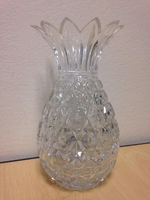 """10"""" Shannon Slovakia lead crystal pineapple vase"""