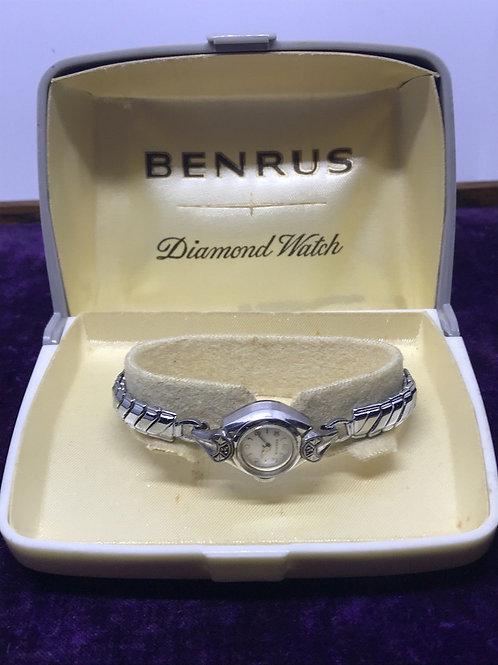 Women's Benrus Diamond Watch