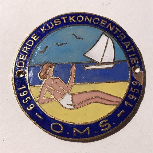 Deede Kustkoncentratie 1959 - OMS - 1959