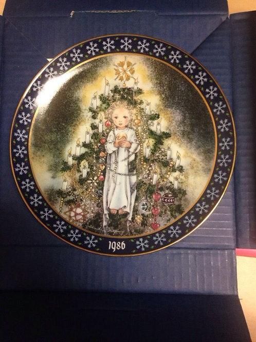 "Königszelt Bayern 1989 ""Das Christkind"" Christmas Collectors Plate"