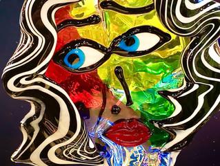 Glass Art on sale!