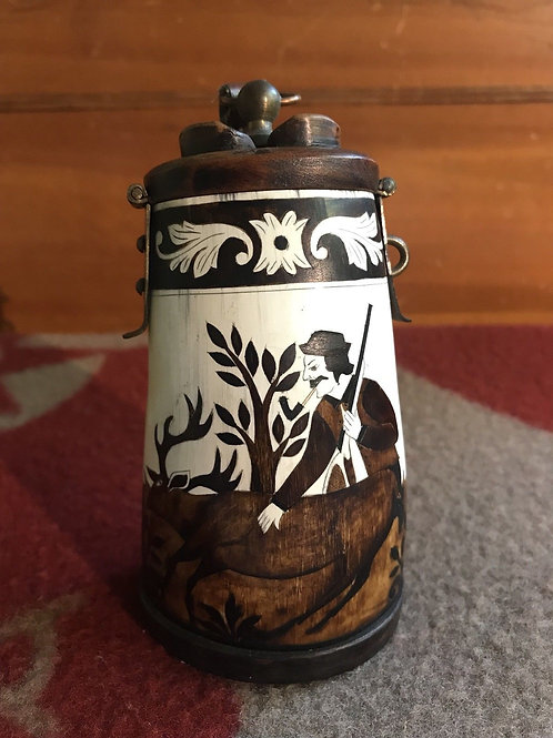Antique Equus Budapest Tabacco Container