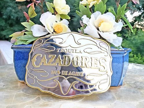 CAZADORES TEQUILA 100% De Agave Oversized Novelty Advertising Belt Buckle