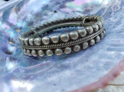 Rajasthan Ethnic Tribal Mixed Metal Gypsy Bracelet
