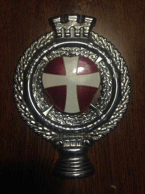 """""""Forenede Danske Motorejere"""" Danish Car Badge"""