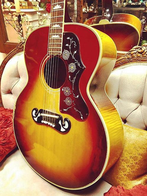 Custom Made Gibson Sunburst Acoustic Guitar u
