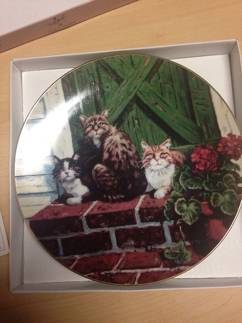 """""""Sun Worshippers"""" Collectable Plate, Friends of Mine Collection by Lowell Davis"""