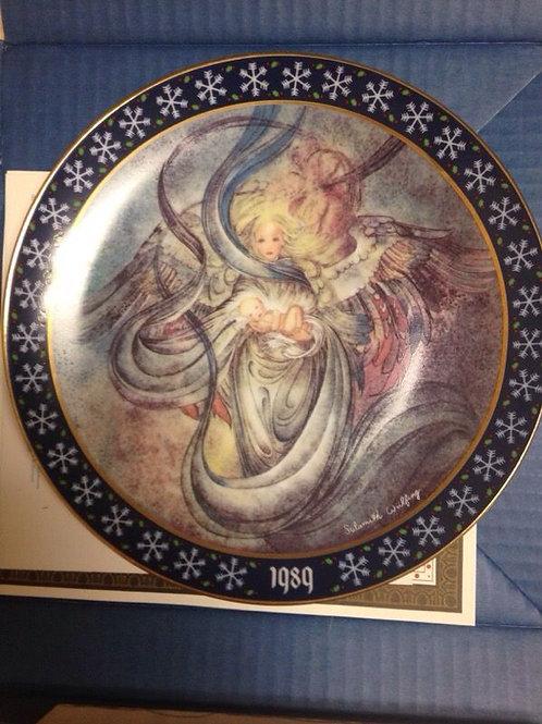 """Königszelt Bayern 1989 """"Das Geschenk des Himmels"""" Christmas Collectors Plate"""