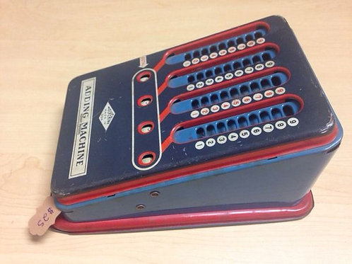 Vintage Wolverine Adding Machine made in the USA