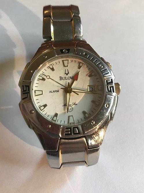 Mens Bulova Marine Star 100 Meter Watch