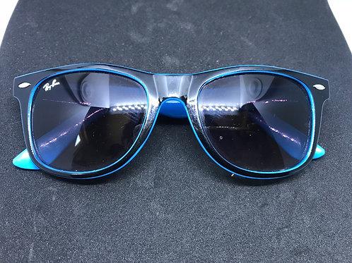 Blue And Black Ray Ban Sunglasses Mod 7035